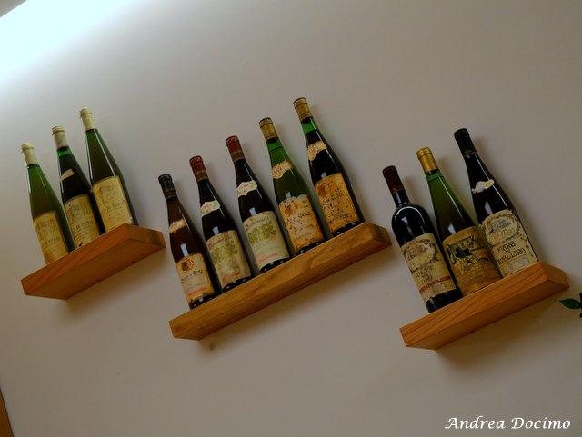 La Locanda di Bu a Nusco. Bottiglie vintage
