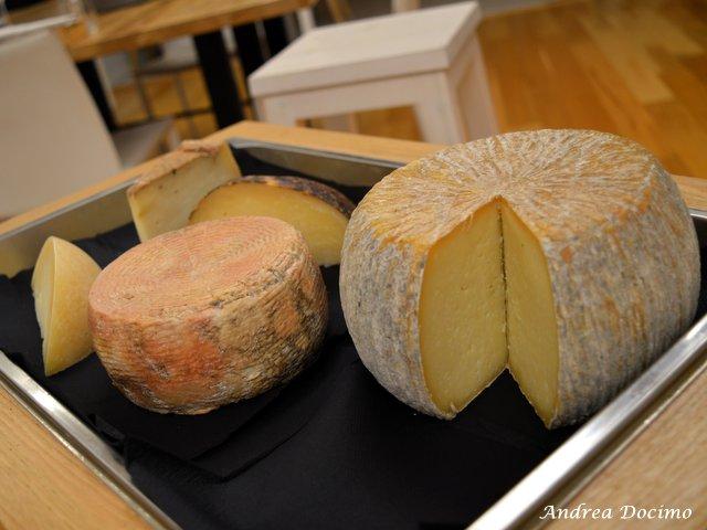 La Locanda di Bu a Nusco. I formaggi