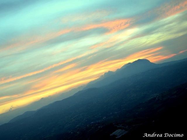 La Locanda di Bu a Nusco. La vista dal balcone