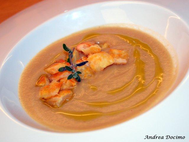 La Locanda di Bu a Nusco. La zuppa di cipolla e caciocavallo