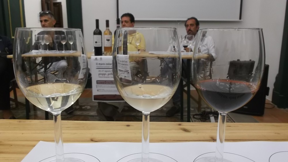 Mediterranean Wine Festival Degustazione dei vini di Mastroberardino Neroameta', Lacrimarosa e Radici Taurasi