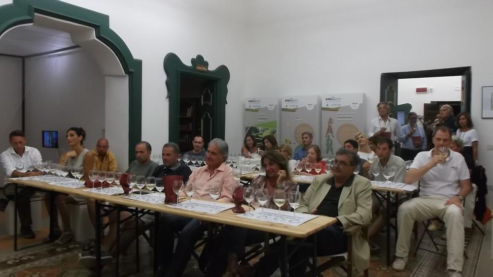 Mediterranean Wine di Pioppi Pubblico presente in sala