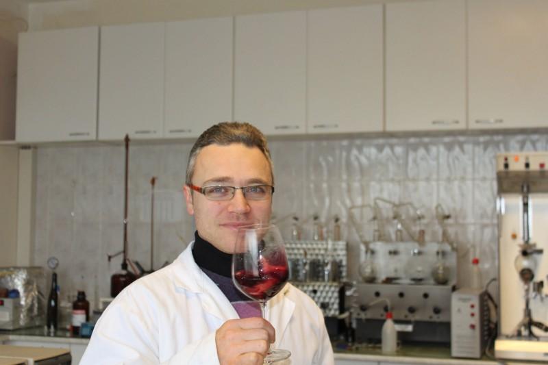 Michele D'Argenio, enologo di Montesole