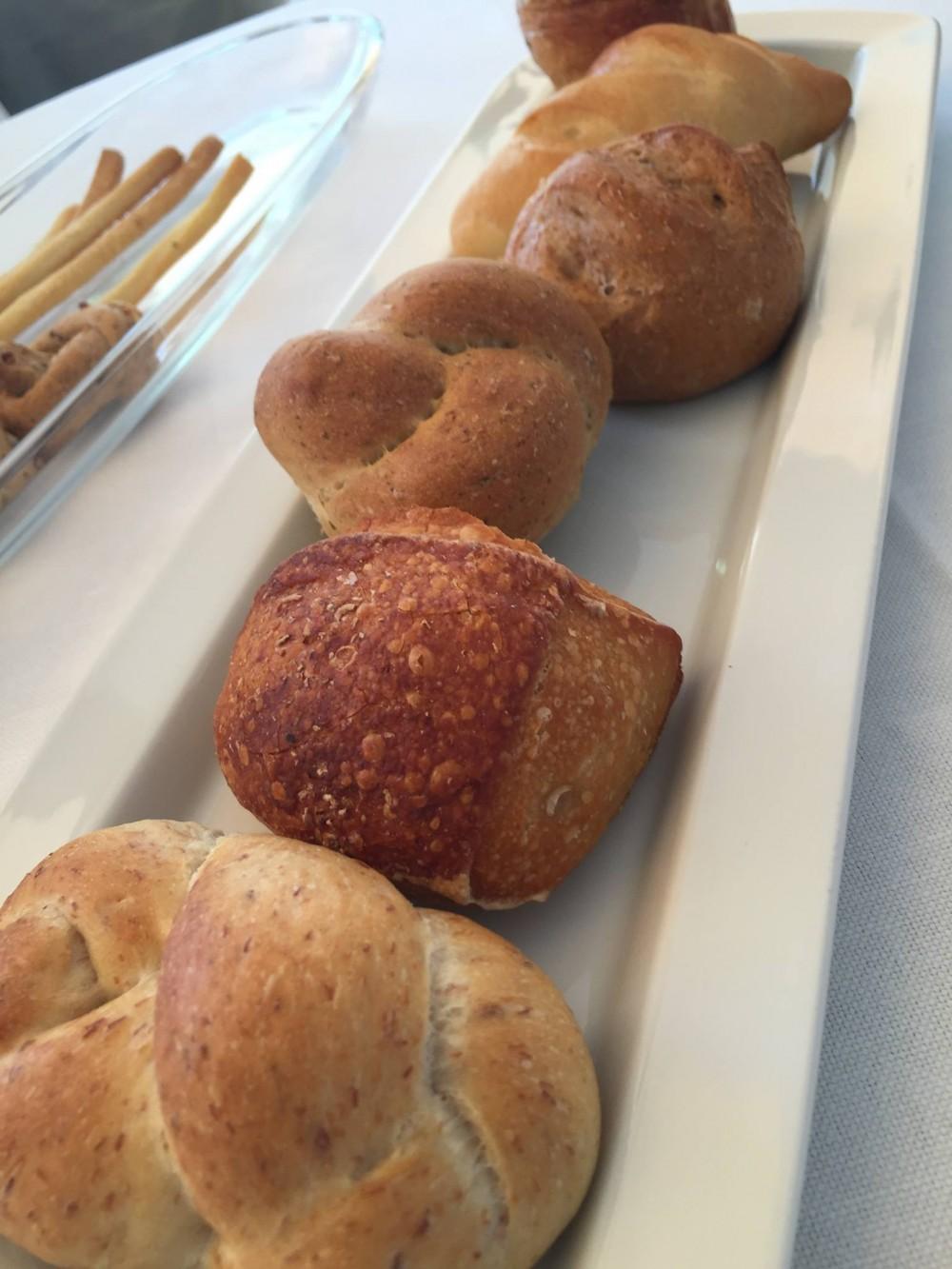 Olivo Capri Palace, il pane