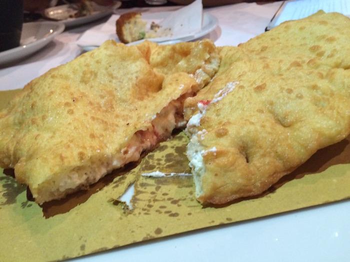 Carpe Diem, Pizza fritta aperta