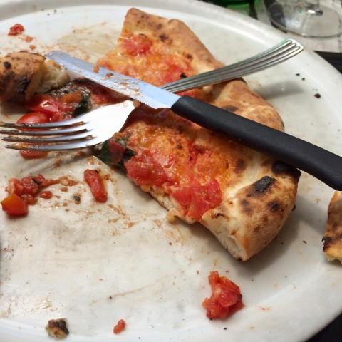 Pizza non buona. No grazie