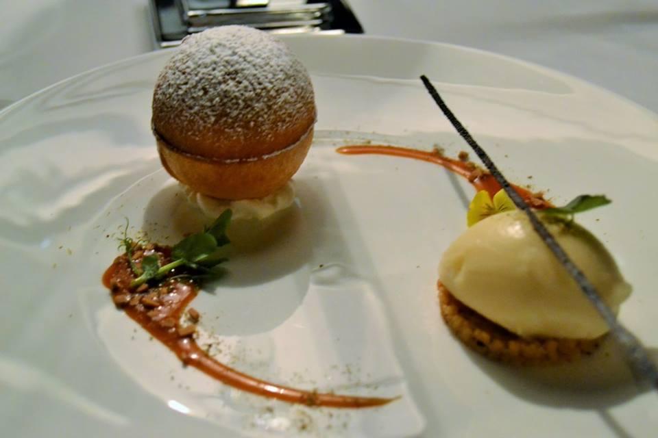 RADA Restaurant Ricotta e pera