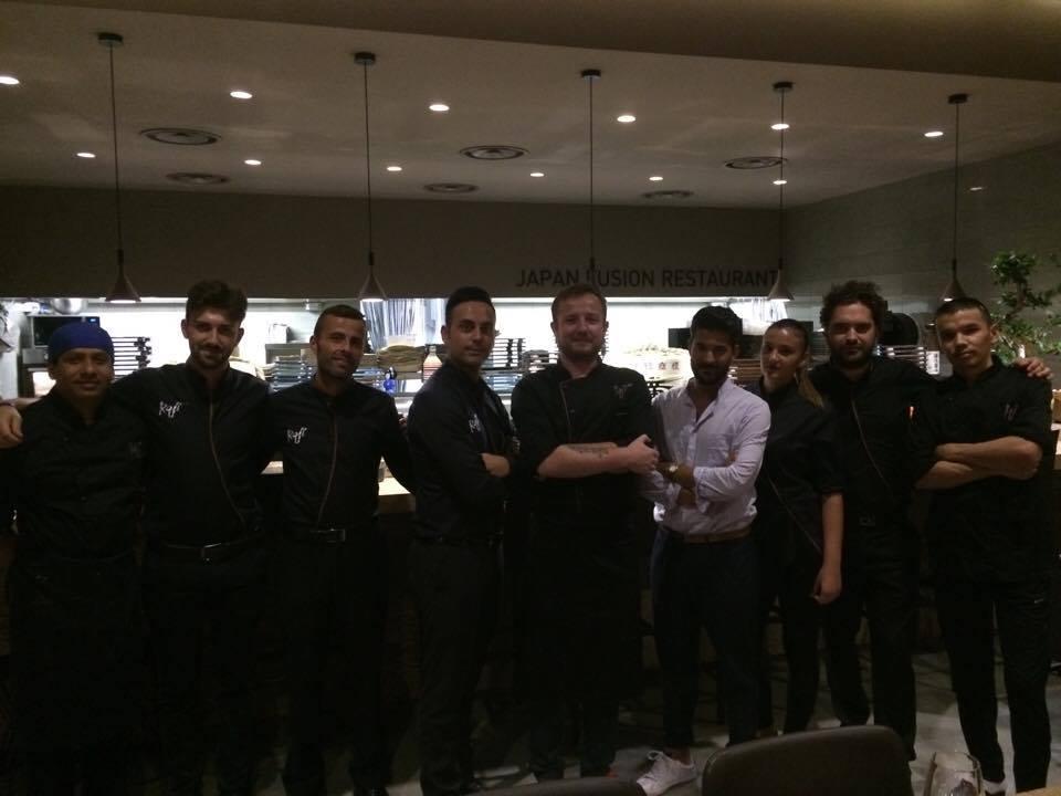 Roji, staff, chef e direttore