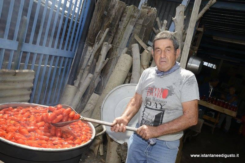 San marzano day, zi Vincenz e i suoi pomodori