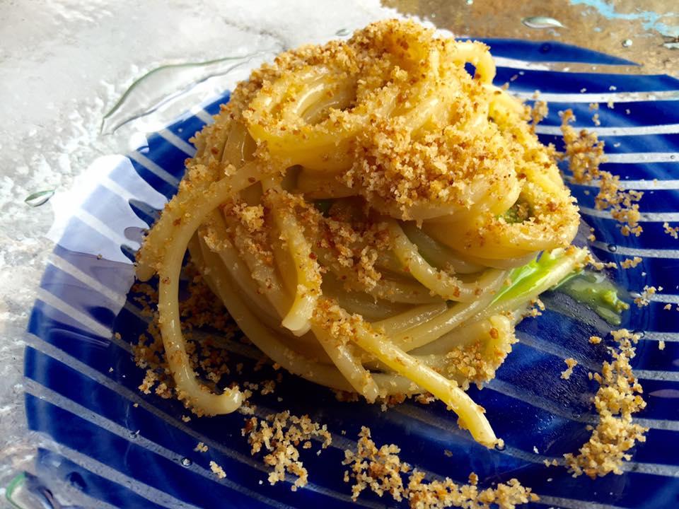 Signum, spaghetto aglio olio e guazzetto di mare
