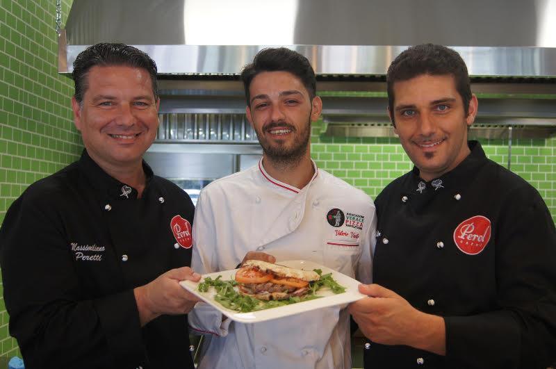 Valerio Vuolo con Rossetti e Peretti