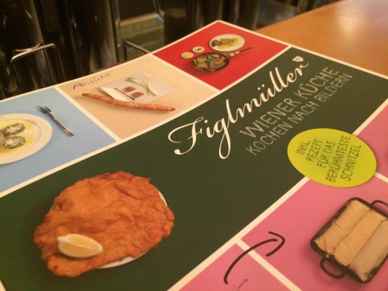 Figlmüller, il libro delle ricette