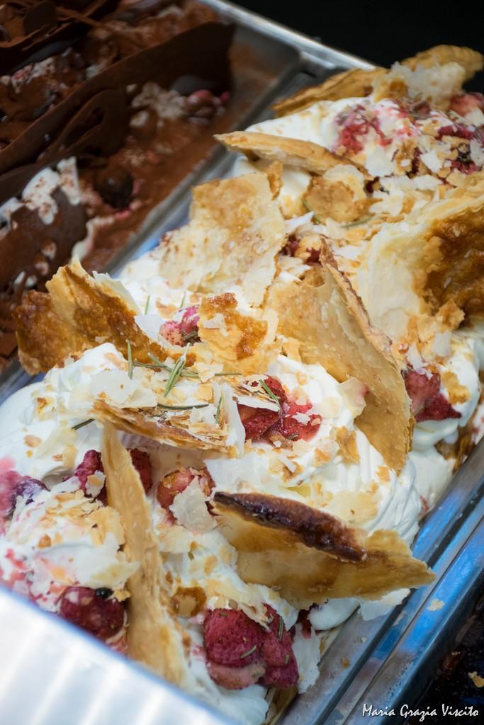Gelateria Crivella, gelato