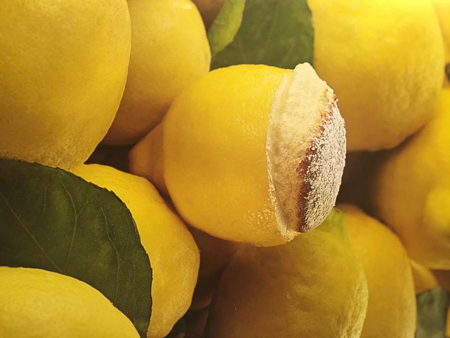 Souffle' al liquore di limoni