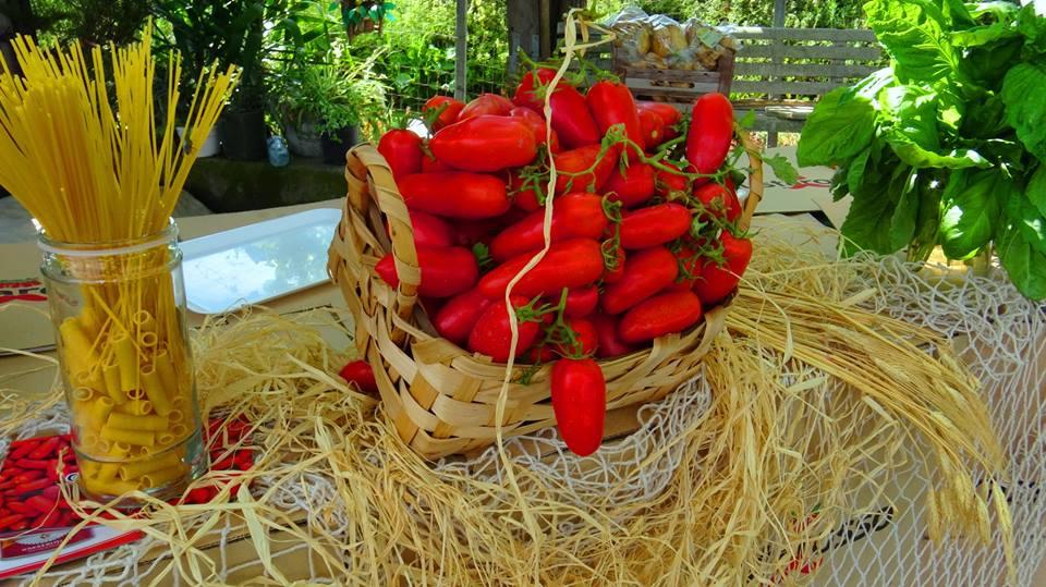 San marzano day, pomodori e pasta