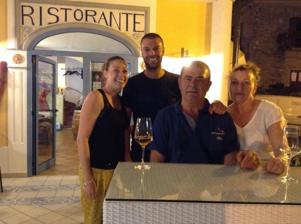 ristorante K, la famiglia Durazzo