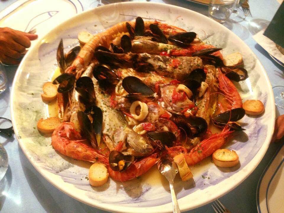 ristorante K, zuppa di pesce