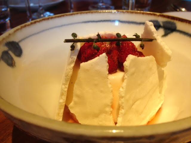 Zuma Roma, dessert ai fiori di gelsomino