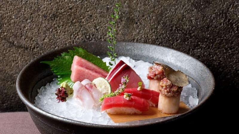 Zuma Roma, sushi e sashimi