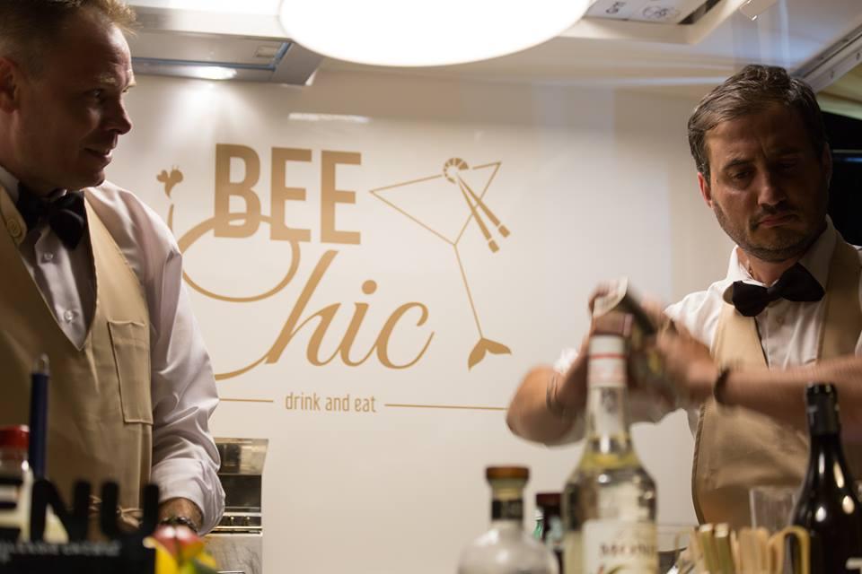 Bee Chic, Andrew ed Alfonso, titolari dell'attivita'