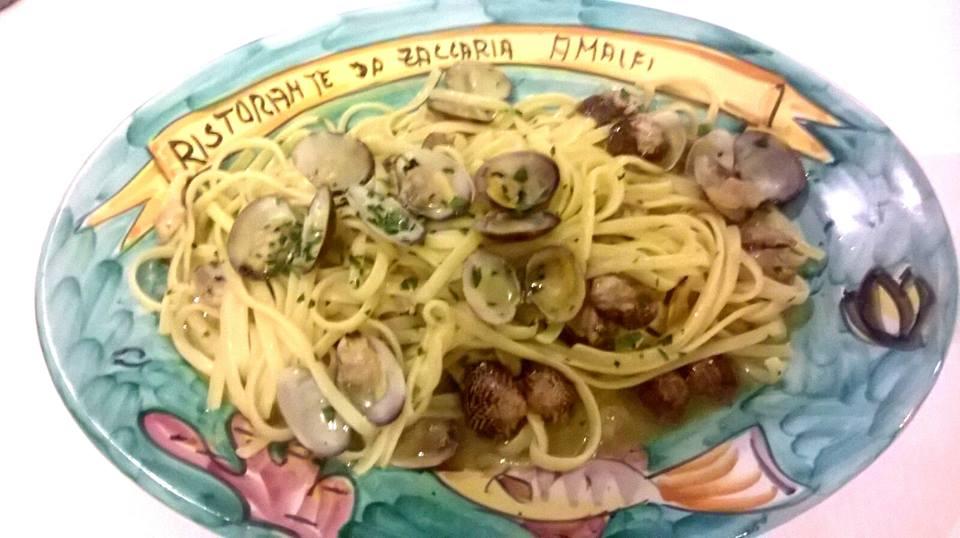 Spaghetto a vongole, Zaccaria, Amalfi Atrani