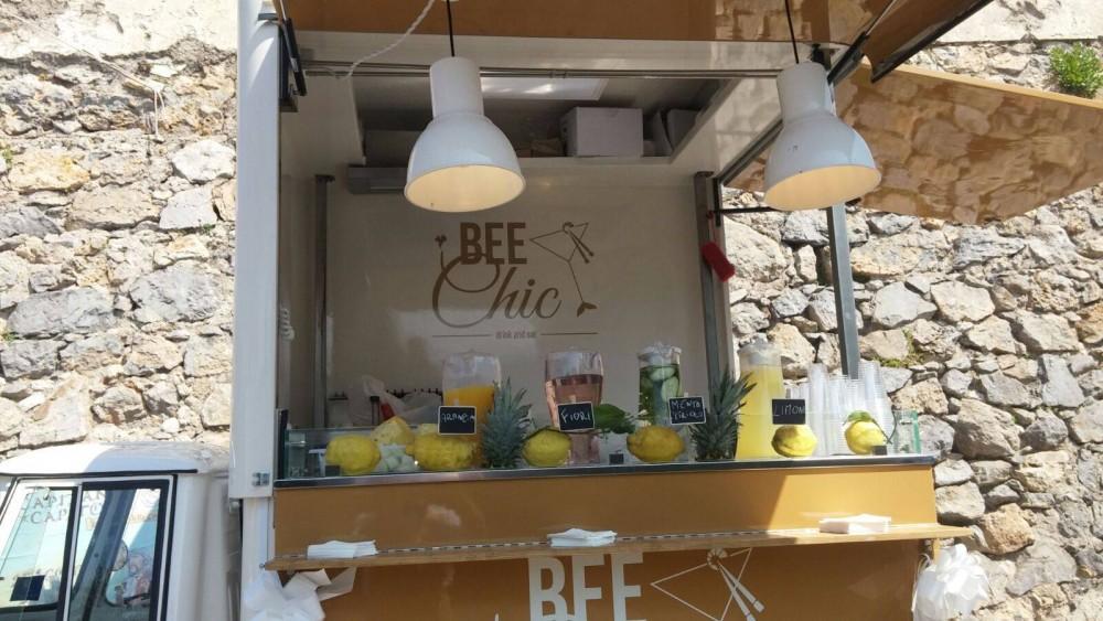 Bee Chic, L'Ape car e le acque aromatizzate