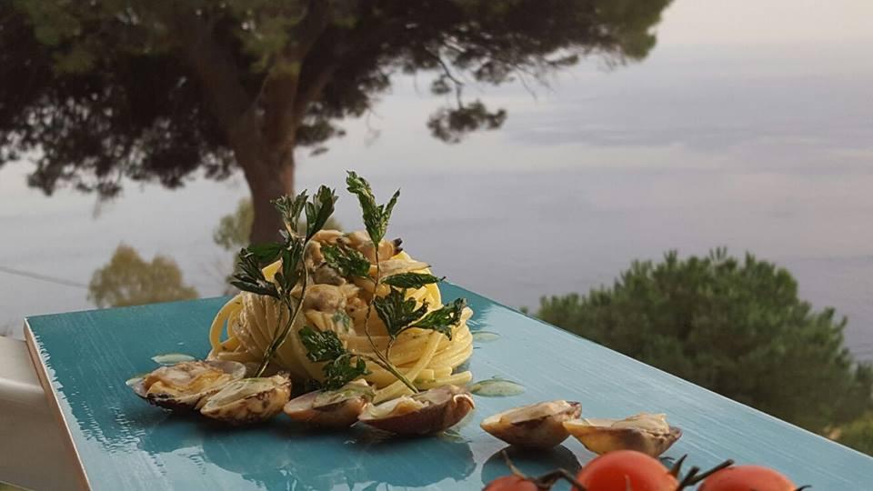 Spaghetto a vongole, Il Pino, Praiano