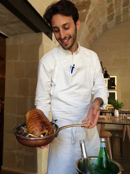Bross Lecce, Floriano con la sua Anatra arrosto