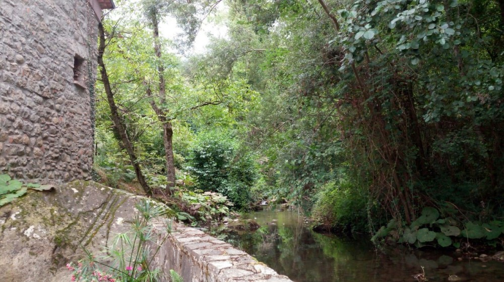 Ceraso, il fiume