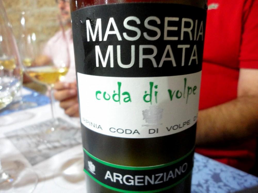 Coda di volpe, Masseria Murata