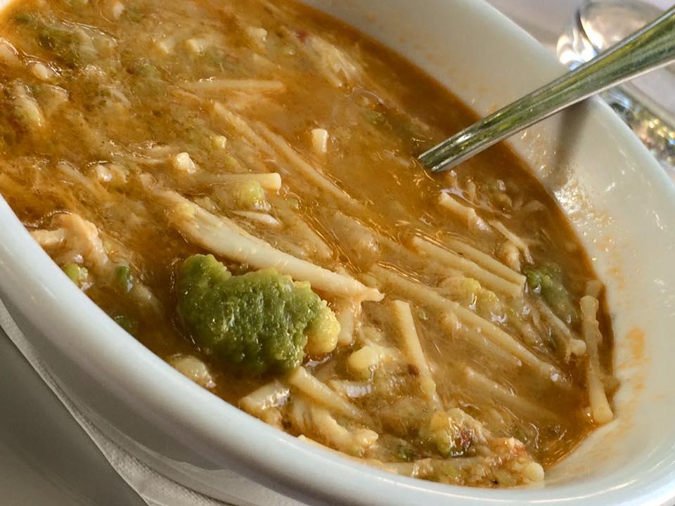 Da Cesare, la minestra broccoli e arzilla