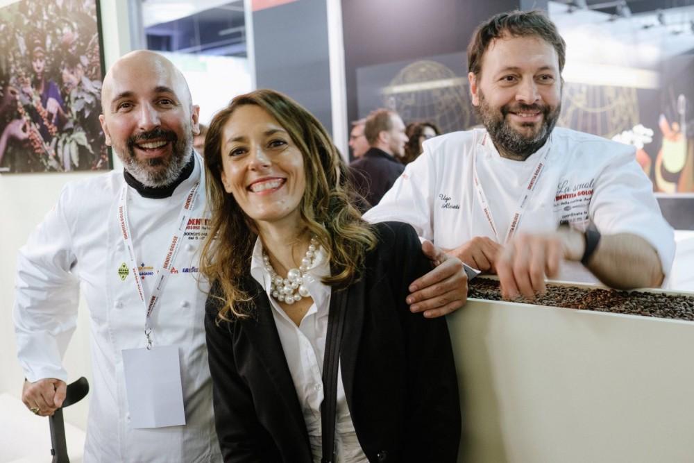 Francesca Martinengo con Ribaldone e Alciati