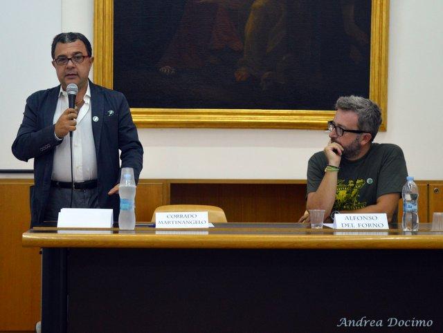 Hildegard Day 2016. Corrado Martinangelo e Alfonso Del Forno