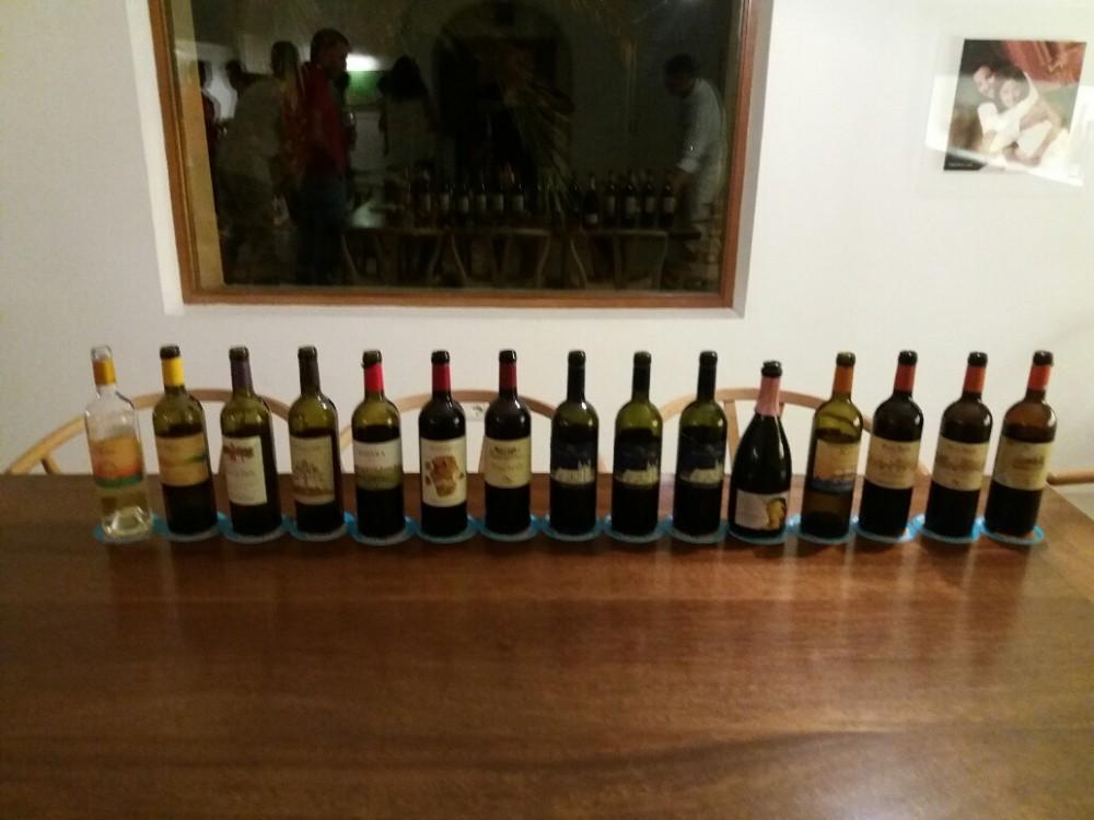 I Vini assaggiati