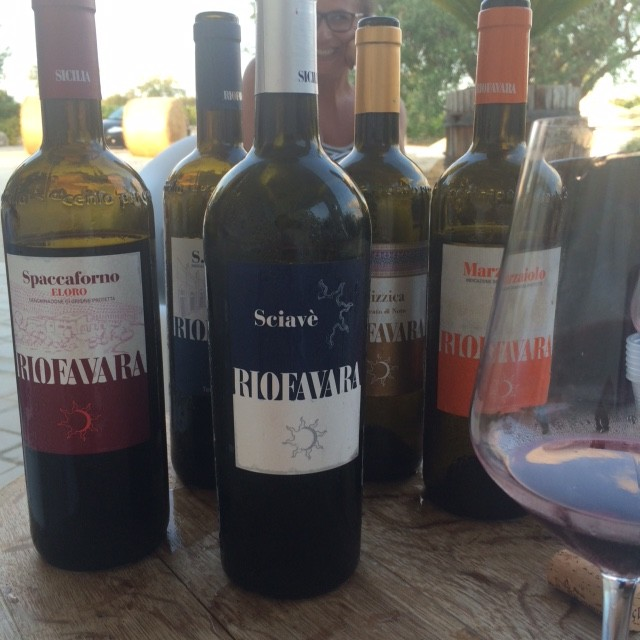 I vini di Riofavara