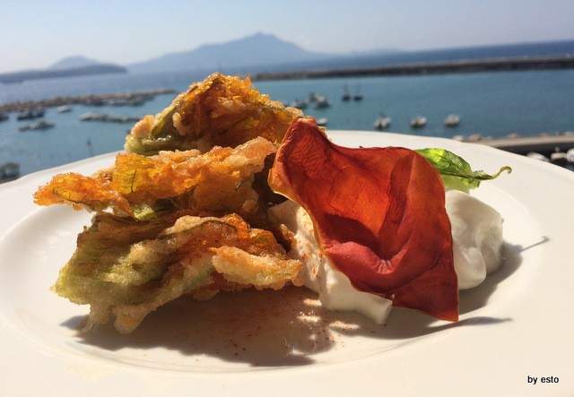 Il Magone Francesca Sotti D'Abbusco fiori di zucca fritti