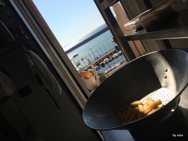 Il Magone cucina con vista sulla baia