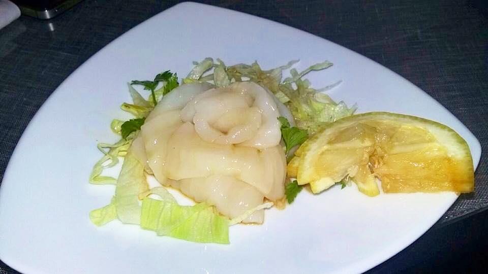 Kukai, Sashimi Capasanta