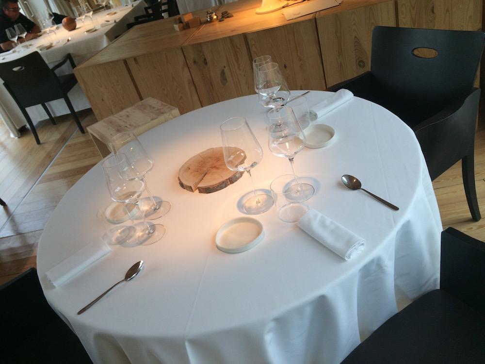 L'Argine a Venco' dettaglio tavolo