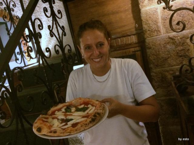 La Contrada Roberta Esposito Pizza Margherita