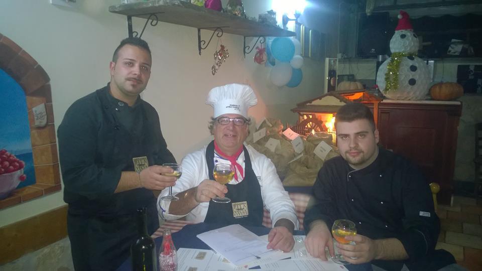 La Pentolaccia, Damiano con Gabriele Ferron