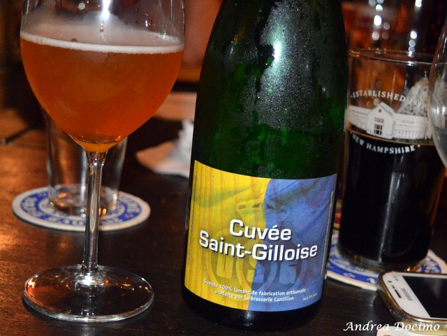 La Quinta Pinta a Caserta. La Cuvée Saint-Gilloise di Cantillon