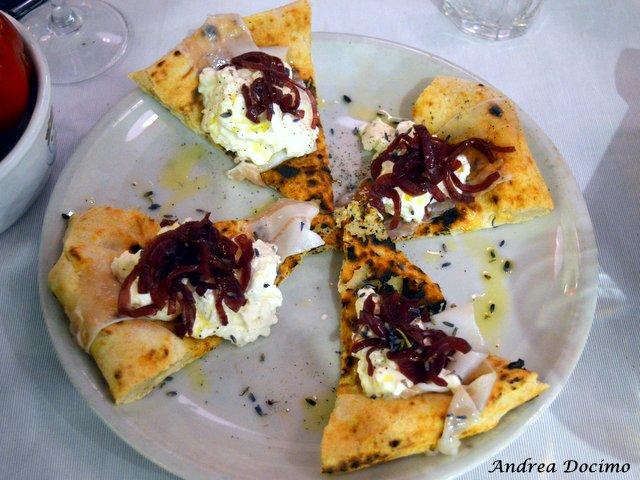 La pizza Via Paganica di Marzia Buzzanca