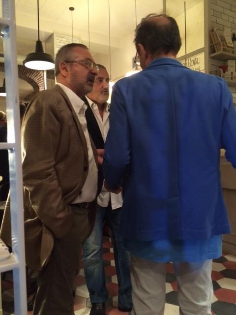 Lo chef Arcangelo Dandini presente all'inaugurazione di CENTRO