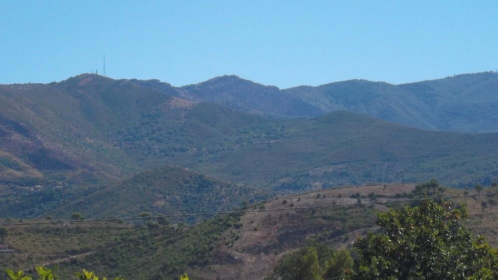 Monte Stella visto da Giacaranda B&B