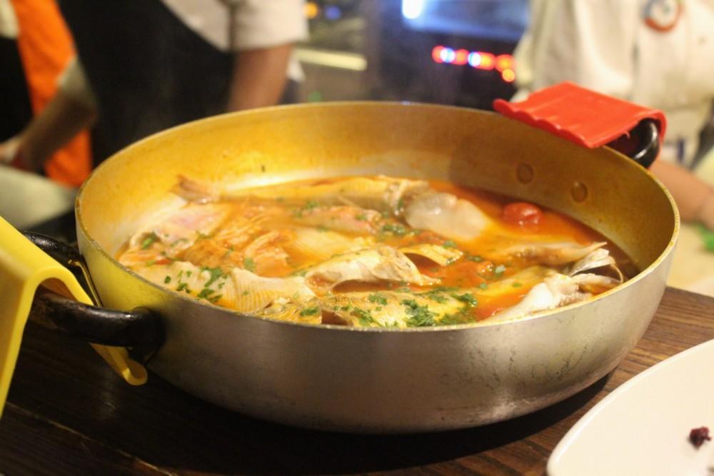 Osteria Dentro le Mura la zuppa di pescato del giorno