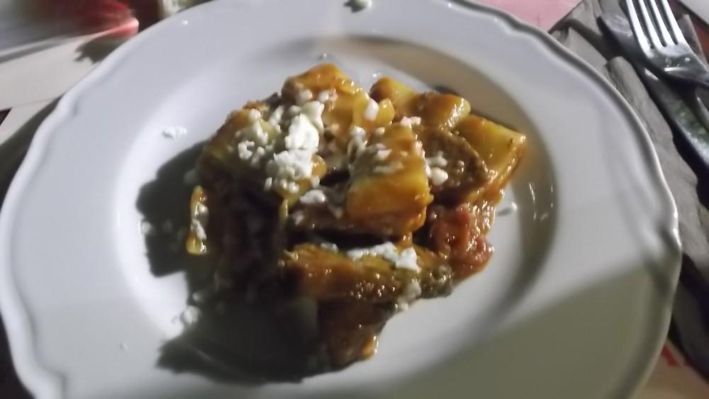 Osteria Il Mercanto' Piatto di pasta al ragu'