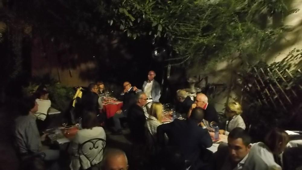 Osteria Il Mercanto' Pubblico presente alla degustazione dei vini di San Salvatore