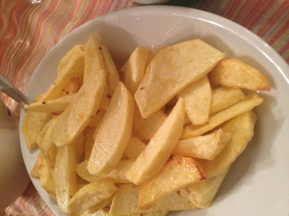 Osteria O Marcsin, patate fritte