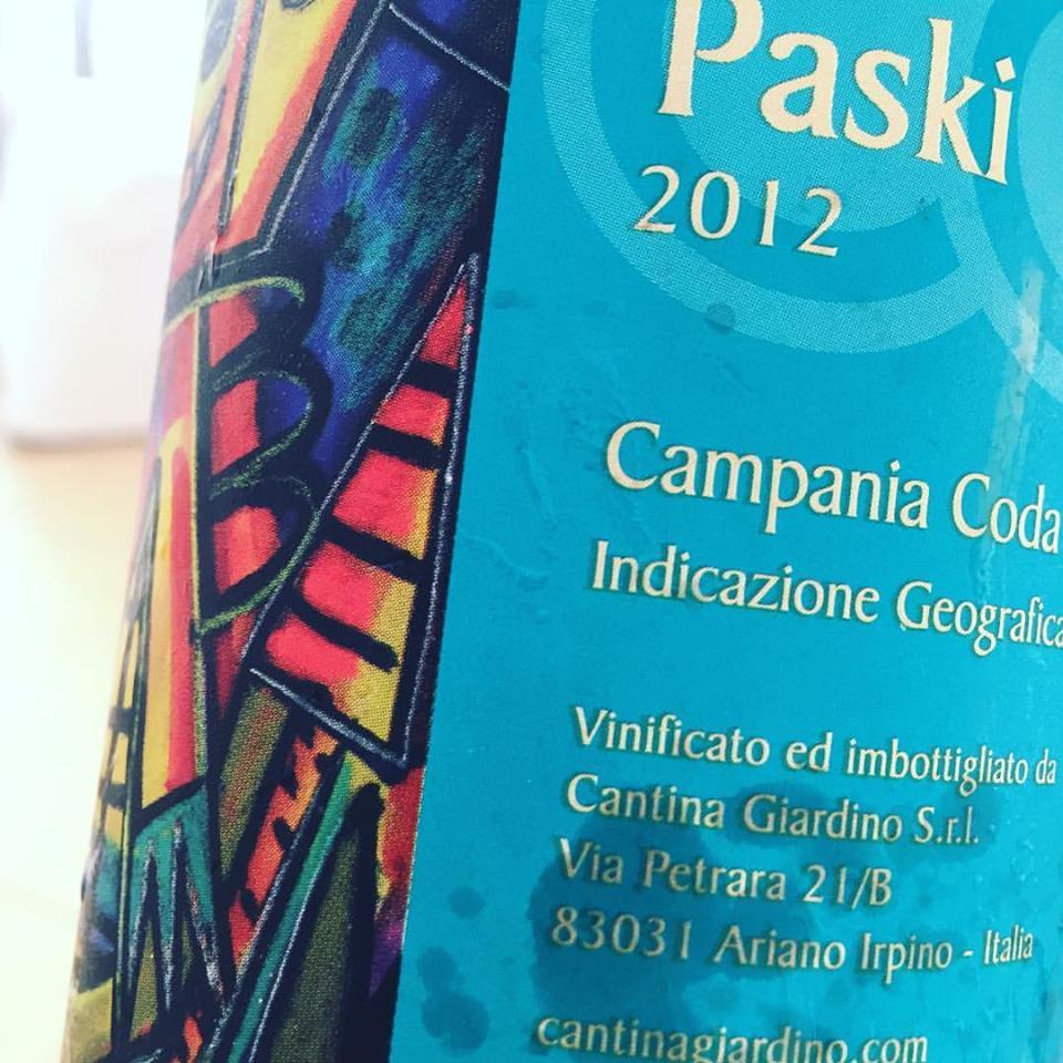Paski 2012 Cantina Giardino